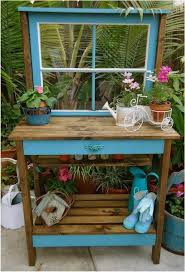 wooden potting bench table 20 ideas for high functionality in