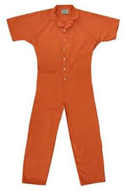 Prison Jumpsuit Inmate Orange Jumpsuit Custom Printed To Your Specifications