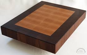 cutting board solid walnut and maple end grain butcher block