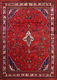 7x10 Rugs Hamadan Persian Area Rug