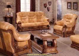 bois et chiffons canapé charmant canapé en cuir bois et chiffons artsvette