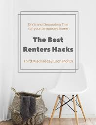 Removable Wallpaper For Renters The Best Renters Hacks For The Living Room Up To Date Interiors
