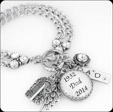 remembrance charms remembrance charm bracelet personalized jewelry memorial jewelry