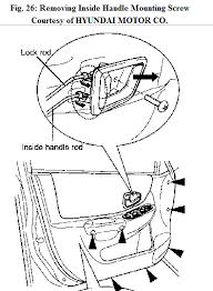 hyundai accent door panel how do you remove the inner door panel on a 2005 hyundai accent gt