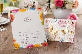 3d wedding invitations 3d gold butterfly decorate wedding invitation card cw5069 view 3d