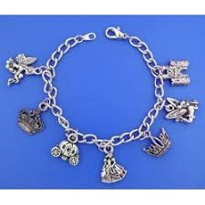 themed charm bracelet princess themed charm bracelet tcb 2 7 5 inch