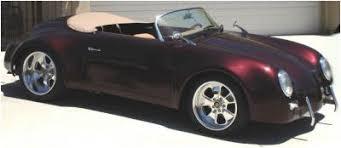 porsche speedster kit car porsche 356 speedster and 550 spyder replicas porsche speedster