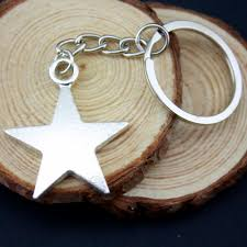 online get cheap star souvenir aliexpress com alibaba group home decor metal crafts party favors star pendants diy car key ring holder souvenir for gift