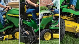 lawn tractors riding mowers john deere us
