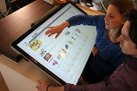 42 best t a b world s largest tablet ocado technology s 42 slablet slablet