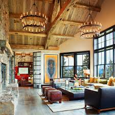 ranch home interiors montana ranch inspired home exudes rustic modern style montana