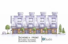 conceptual images of lakewood town homes u2014 evstudio architect