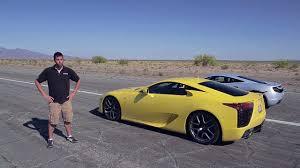 yellow lexus lfa bugatti veyron vs lamborghini aventador vs lexus lfa vs mclaren