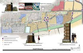 Las Vegas Neighborhood Map by Inspirada Master Plan U2013 Andersonbaron
