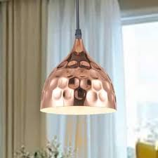 Copper Pendant Lights Copper Finish Pendant Lighting For Less Overstock