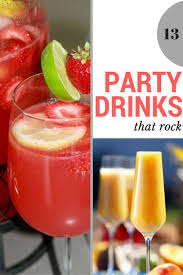 Party Cocktails Punch - best drinks to serve at a party punch house party and drinks
