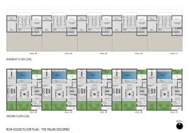 Row House Floor Plans The Palms Socorro Virani Ventures