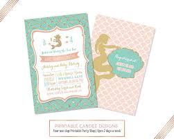 mermaid baby shower invitations wholesale baby shower invitations linksof london us