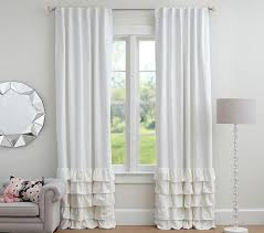 Blackout Curtains For Baby Nursery Remarkable Baby Curtains And Two Grommet Top Blue Sky Clouds
