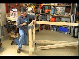 building a work bench for your garage or craft room youtube