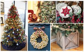 100 tree and wreath decorating ideas the six fix
