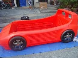 Little Tykes Toy Box Mommyslove4baby143 Red Little Tikes Twin Car Bed W Toybox In Hood