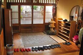 Japanese Traditional Kitchen Natural Home Design Kitchen No Shoe Policy In Japan The