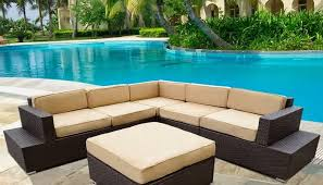 curved outdoor sofa furniture russcarnahan com