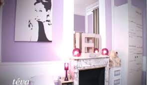 chambre mauve et chambre fille violet fushia djeco chambre bebe mauve et gris