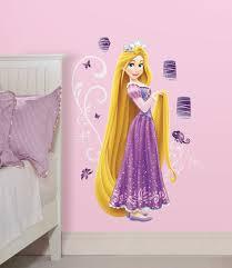 disney princess removable stickers disney princess rapunzel giant wall stickers