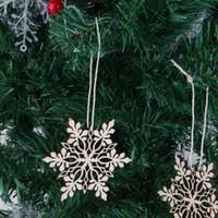 wholesale wooden snowflake ornament buy cheap wooden snowflake
