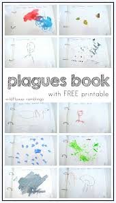 make your own plagues book free printable wildflower ramblings