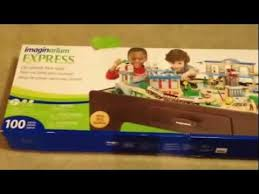 imaginarium train table 100 pieces imaginarium express central train table assembly instructions youtube