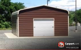 metal garage with storage area 22 u0027 x 31 u0027 shop metal buildings
