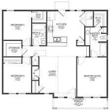 3 bedroom floor plan simple 4 bedroom floor plans remarkable small 3 bedroom house