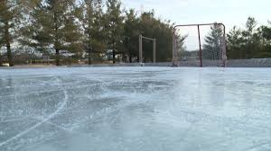 the coolest yard in town backyard rink beats winter blues whotv com