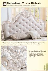modern italian french baroque style king bedroom furniture buy