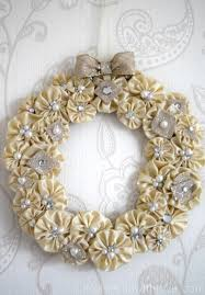 on the 4th day of christmas wreath wreaths yo yo and craft