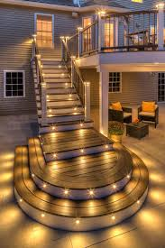 Lighting For Patios Best 25 Outdoor Deck Lighting Ideas On Pinterest Patio Lighting