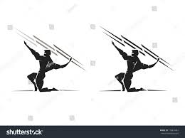 illustration greek god zeus throwing bolt stock vector 179814467