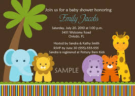 animal baby shower invitations animal baby shower invitations in