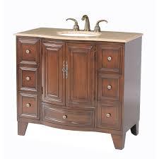 bathroom vanities 40 inch stufurhome grand cheswick 40 in single bathroom vanity hayneedle