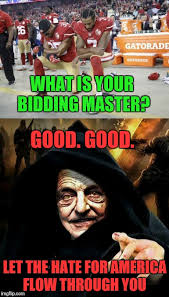 Let The Hate Flow Through You Meme - what is your bidding master good good let the hate for america
