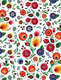 flower wrapping paper center gift wrapping paper wycinanki themed