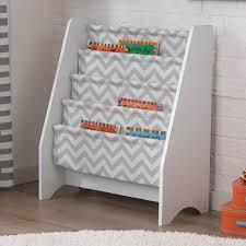childrens white bookcases sling bookshelf peaches and bees sling bookshelf for little momo