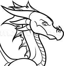 how to draw a easy cartoon dragon step by fandifavi com