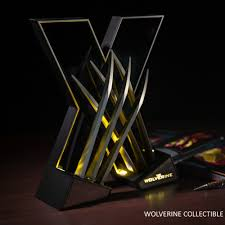 Collectible Home Decor Marvel Comics The Wolverine Collectible Light Cosplay Home Decor