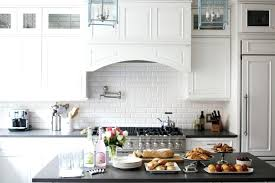 subway tile ideas kitchen white subway tile in kitchen aerojackson com