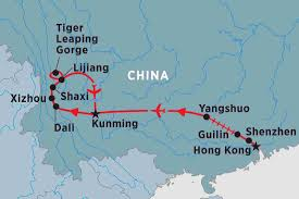Guilin China Map by South West China China Tours Peregrine Adventures