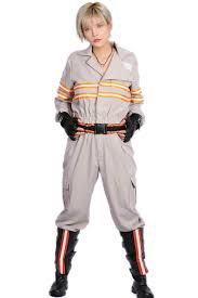 xcoser 2016 movie ghostbusters 3 costume jumpsuit with belt gloves